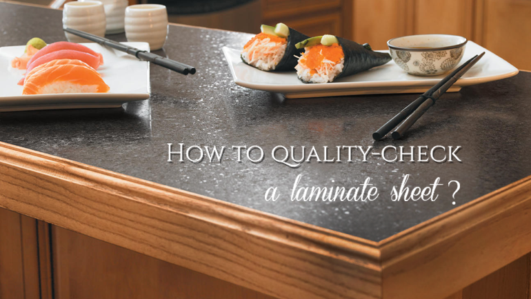 How to Quality-Check Laminate Sheets