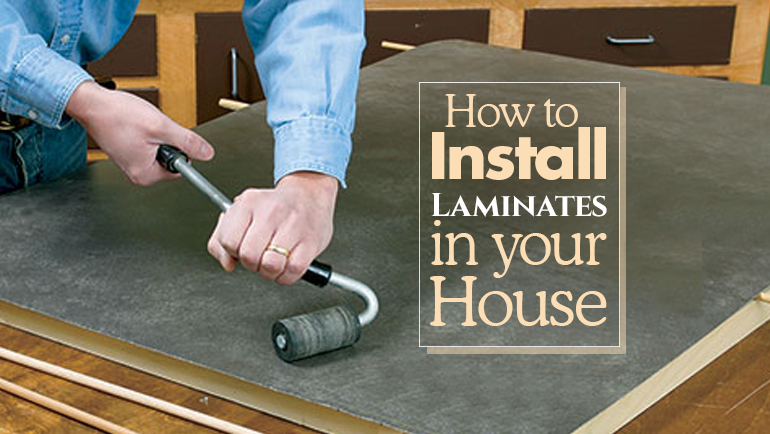 how to install laminate sheets in your house formica india