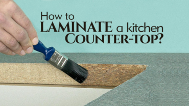How To Laminate A Kitchen Countertop?