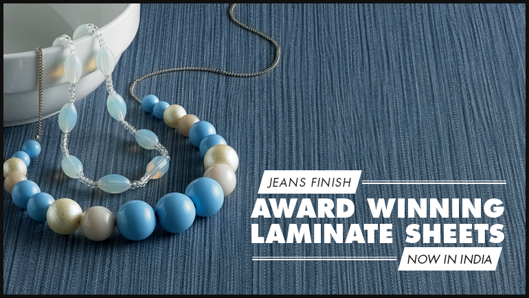 Award Winning Laminate Sheets – Now in India