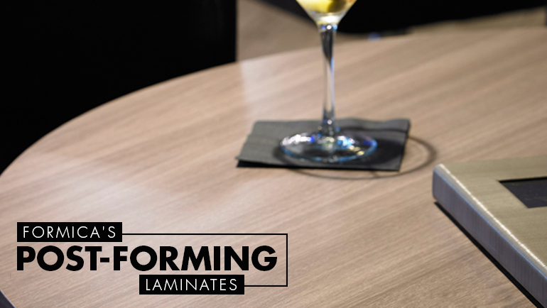Why Formica's Post-Forming Range are the Best Laminates in India