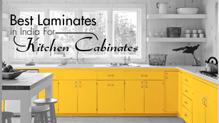 Best Laminates in India for Kitchen Cabinets