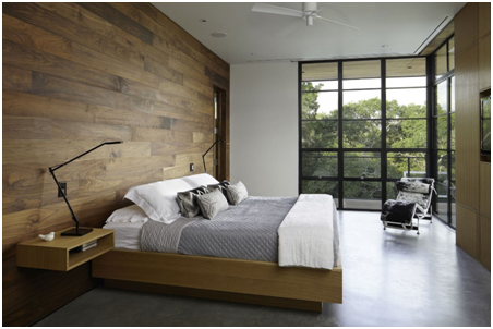 Beautiful Image Source:  Http://idolza.com/a/f/w/wall Mounted Cabinet Minimalist Interior Design Modern Dark Brown Low Wood Table Chocolate Rectangle_wood Wall   ...