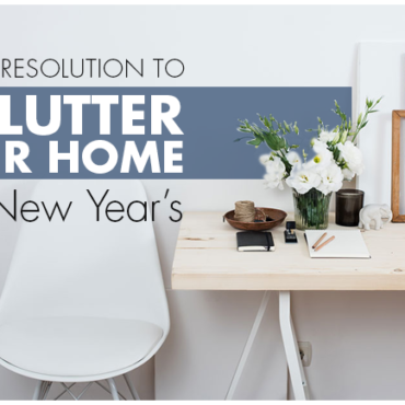 Make A Resolution To Declutter Your Home This New Year's (Declutter Tips, Revamp DIYs Using Laminates, etc)