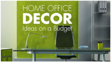Home Office Ideas On A Budget- Decorative Laminates To The Rescue!